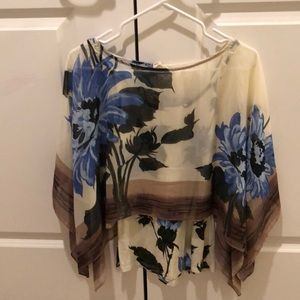 Anthropologie layered top.